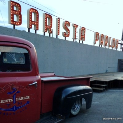 One Hip Cup of Coffee at Barista Parlor in Nashville