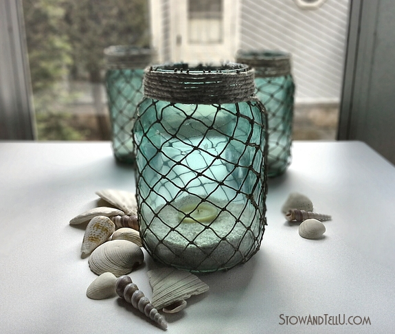 nautical-inpired-netted-jars