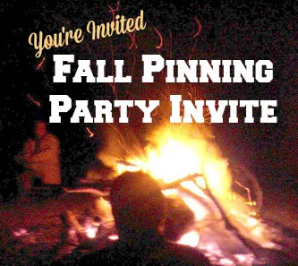 Fall Pinning Party Invite and Preview