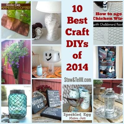 10 Best Craft DIYs of 2014