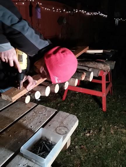 finishing-log-tree
