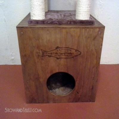 Hidey Cat Cubby Crate