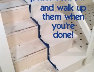 how-to-paint-stairs-not-get-trapped-http://www.stowandtellu.com