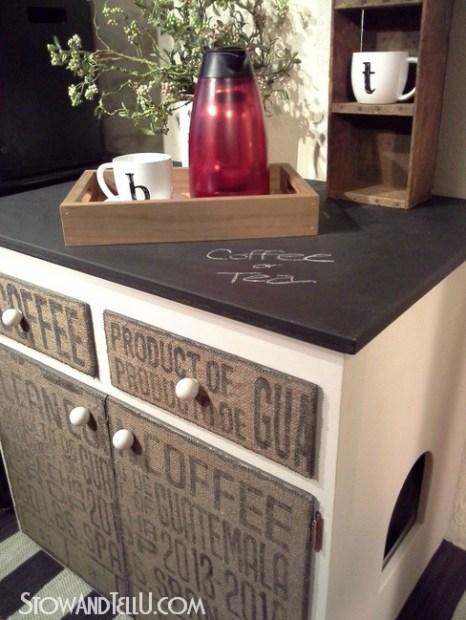 chalkboard-painted-countertop-burlap-furniture-http://www.stowandtellu.com