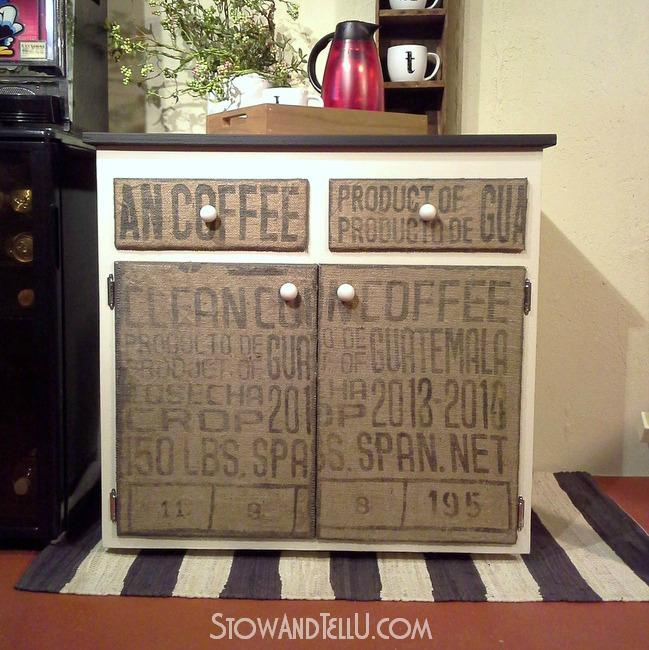 diy burlap coffee sack covered furniture http burlap furniture