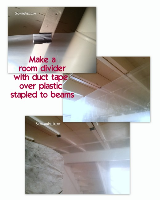 Tips For Painting An Exposed Basement Ceiling/ Stow&TellU
