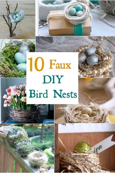 It's Faux the Birds! 10 DIY Nests