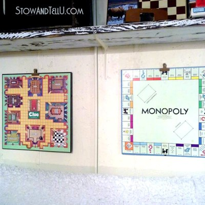 The Art of Hanging a Board Game