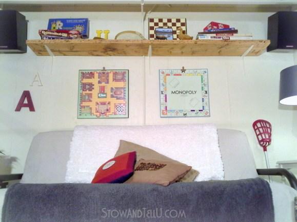 how-to-hang-board-game-art-http://stowandtellu.com