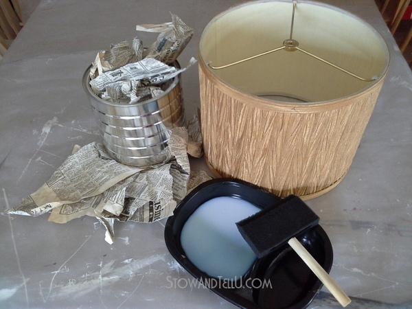 decopauge-old-newspaper-lampshade-supplies-http://stowandtellu.com