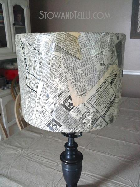 vintage-newspaper-decor-lamp-shade-https://stowandtellu.com