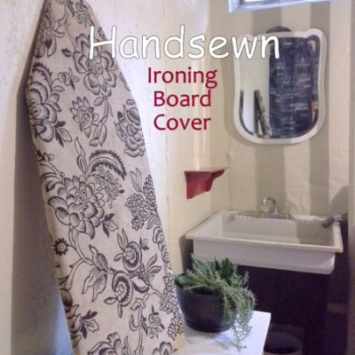 Handsewn Ironing Board Cover