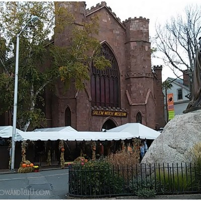 Postcards from Salem Massachusetts on Halloween