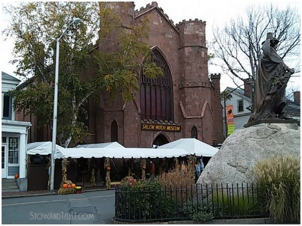 Salem witch museum and a visit to Salem Massachusetts on Halloween of 2014