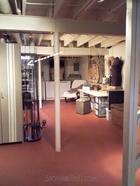 open-beam-ceiling-open-floor-plan-basement