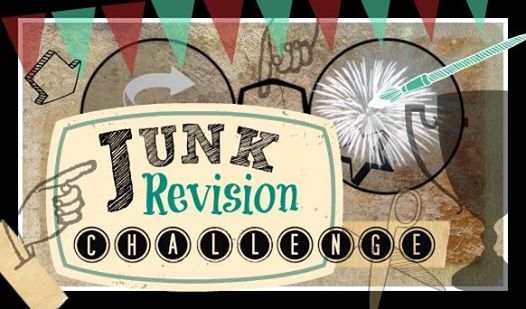 Junk revision monthly challenge, where bloggers upcycle junk into something usefule from Stowandtellu.com