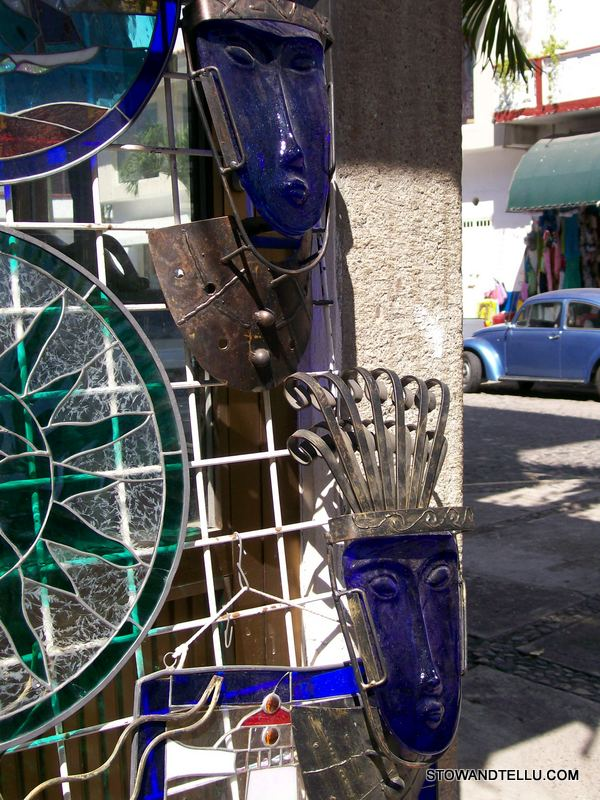 postcards from cobalt-blue-native-art-puerto-vallarta