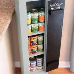 Kitchen Pantry Ideas Cabinet Doors Only 20 Faux Stow Tellu That Could Work For A With No Space Stowandtellu