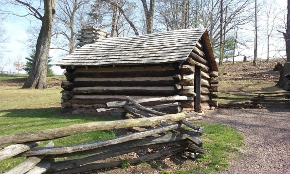 valley-forge-log-cabin-guard-quarters - StowandTellU.com