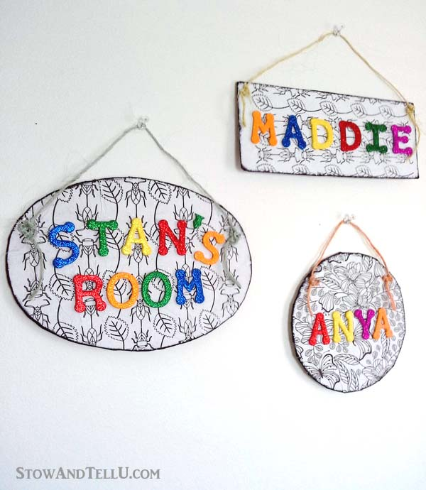childs-name-plate-coloring-page - StowandTellU.com