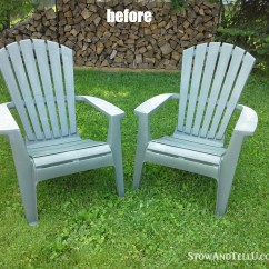 How To Paint Plastic Chairs Rooms Go Living Room Yardworkation 1 Spray And Lawn Stow Tellu Tutorial For Painted With A Tip Making An Easy