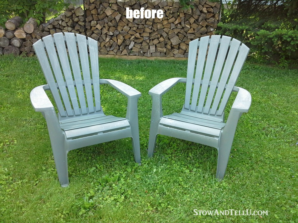 Tutorial For Spray Painted Plastic Lawn Chairs With A Tip For Making An  Easy Spray Paint Part 90
