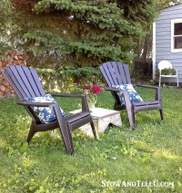Yardworkation #1 - Spray Paint and Plastic Lawn Chairs ...