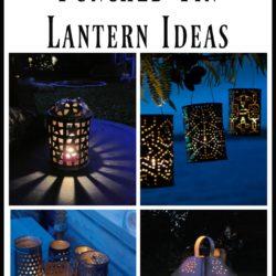 7 DIY Faux Punched Tin Lantern Ideas - StowandTellU