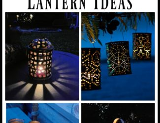 7 DIY Faux Punched Tin Lantern Ideas - StowandTellU