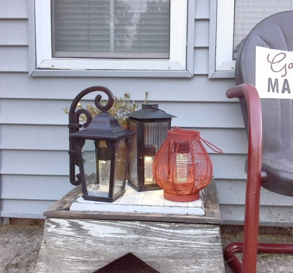How to make solar lights from old lanterns - StowandTellU.com