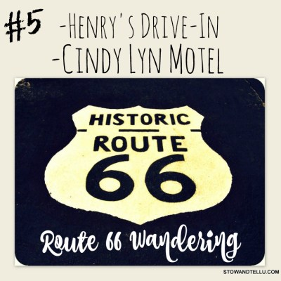 Rt 66 Wandering: Henry's Drive-In and Cindy Lyn Motel - Cicero Illinois - StowAndTellU