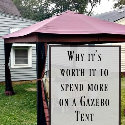 Why You Don't Want to Go Cheap with a Gazebo Tent