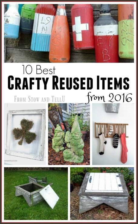 10 Best Crafty reused items 2016 | Stowandtellu.com