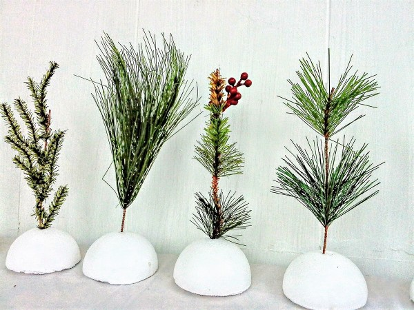 How to make faux saplings or seedlings - StownandTellU.com