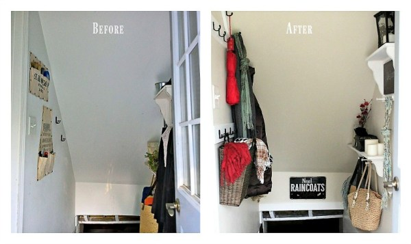 Stairway-before-after-100-dollar-room-challenge | stowandtellu