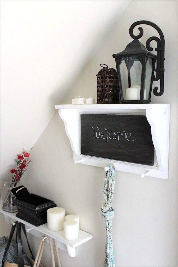 faux-wood-chalkboard-paint-shelf | stowandtellu
