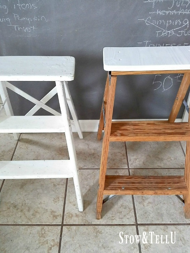 How to Turn a Step Ladder into a Chair or Stool for Small
