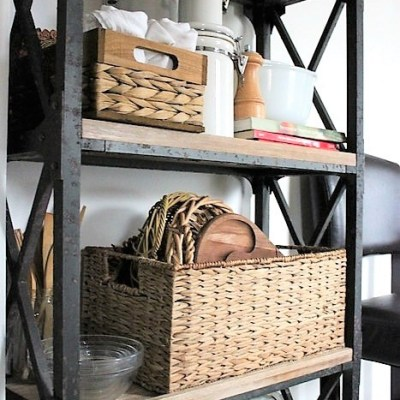 5 Tips for Open Kitchen Rack Storage