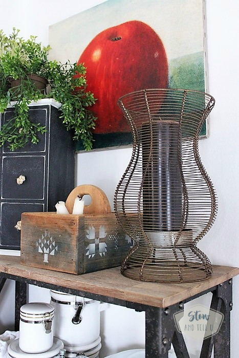 rustic-industrial-open-kitchen-rack-decor   Stowandtellu.com