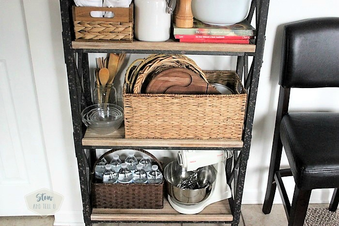5 tips for small space kitchen rack storage | stowandtellu.com
