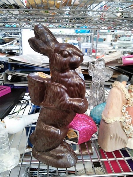 faux-chocolate-easter-bunny