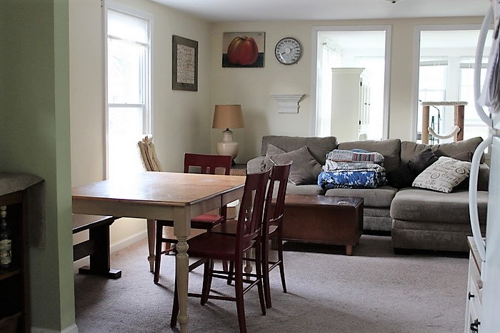 Awesome initial layout living dining bo