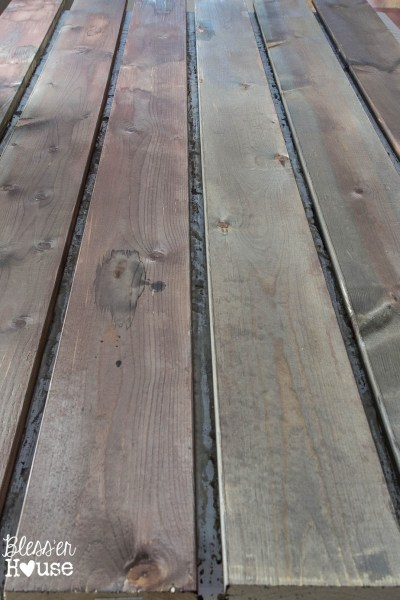 DIY barn wood stain   Blesser House   10 diy faux wood aging tips
