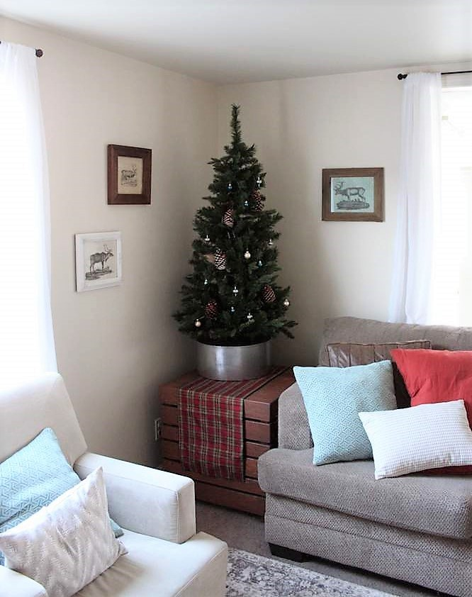 Vintage Christmas Reindeer Wall Art   stowandtellu.com