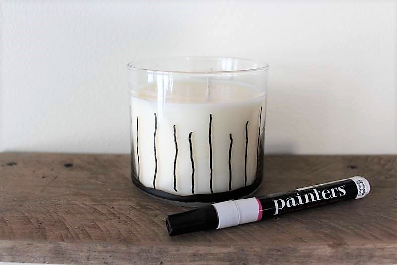How to draw pine trees on jar candles | stowandtellu.com
