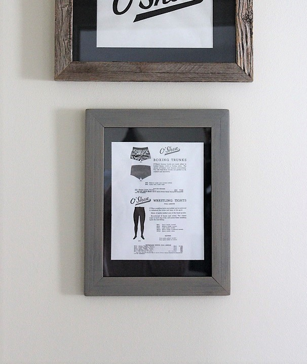 How to reuse old picture frames and matte boards for new artwork | stowandtellu.com