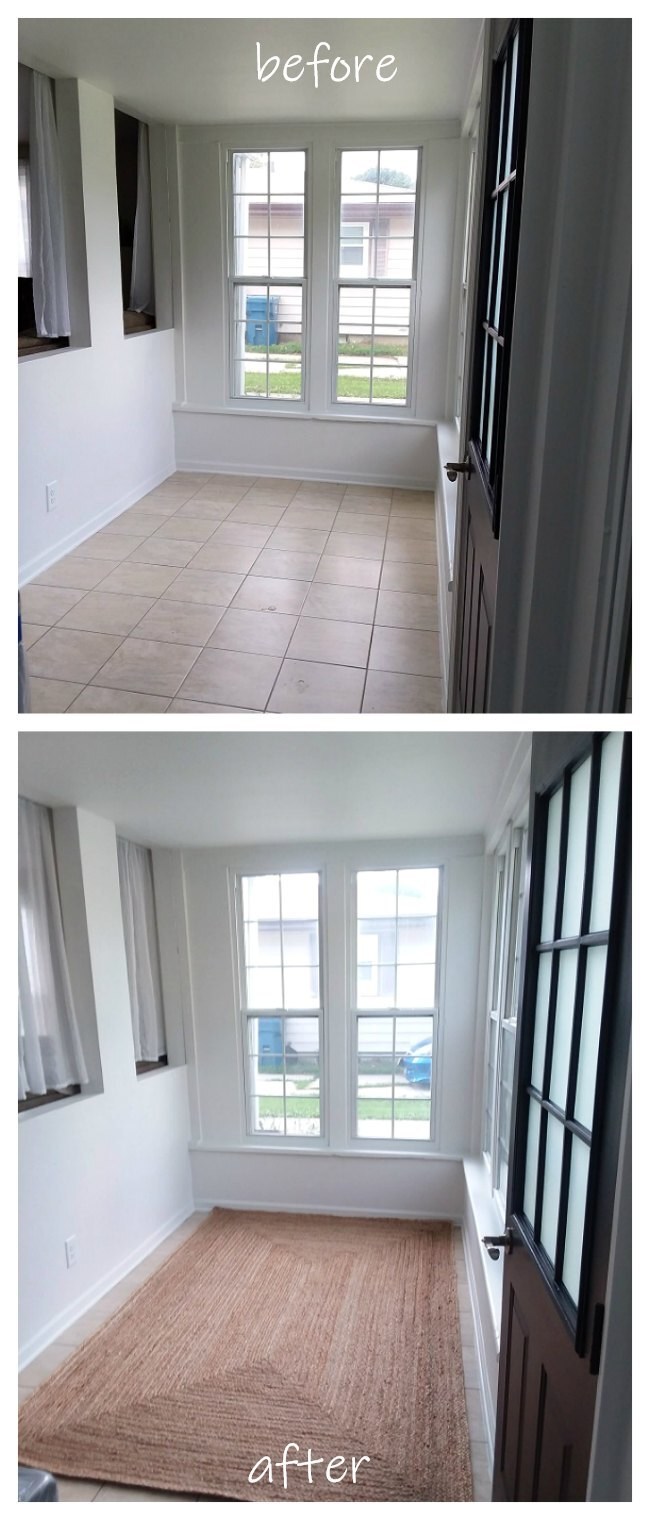 Before and After: Decorating with Area Rugs   Stow&TellU