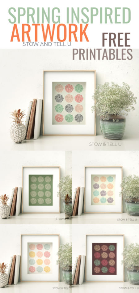 Spring and Easter Free Printable Modern Artwork Collection | Stowandtellu