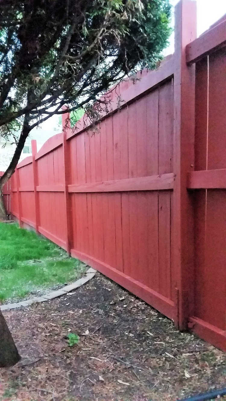 Fix A Leaning Fence Post The Easy Way Stow Amp Tellu