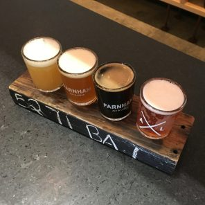 The Tastes at Farnham Ale and Lager in South Burlington, Vermont